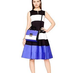 Kate spade corley striped pocket dress